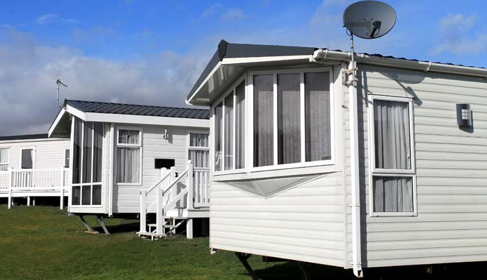 Used Trailer at holiday parks